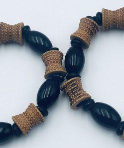 """ALT:""""Bracelet perles en bois"""""""