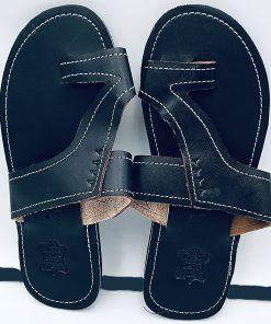 """ALT:""""Sandale en cuir homme"""""""