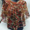 Cape ankara large réalisées en tissu ankara par des artisans africains.